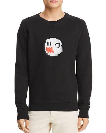 Bricktown - Nintendo Boo Ghost Crewneck Sweatshirt - 100% Exclusive