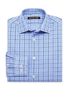 Michael Kors Boys' Plaid Dress Shirt - Big Kid - Bloomingdale's_0