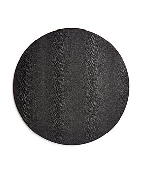 Benson Mills for Bloomingdale's - Reversible Snakeskin Round Placemat