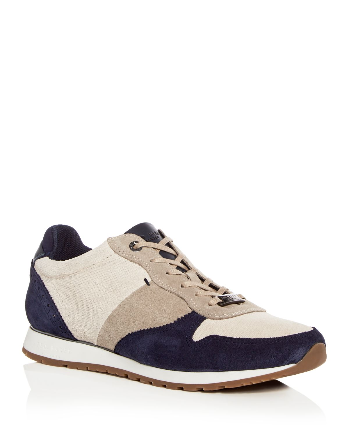 Ted Baker Men's Shindl Suede Lace Up Sneakers