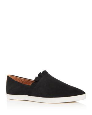 Gentle Souls Women's Avery Nubuck Leather Pointed Toe Sneakers 3067695