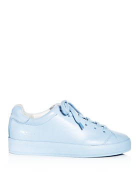 rag & bone - Women's Perforated Leather Lace Up Platform Sneakers