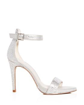 Kenneth Cole - Women's Brooke Shine Embellished Ankle Strap High-Heel Sandals
