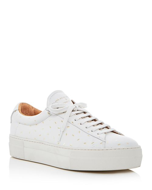 Zespa - Women's Dessus Supakitch Leather Lace Up Platform Sneakers - 100% Exclusive