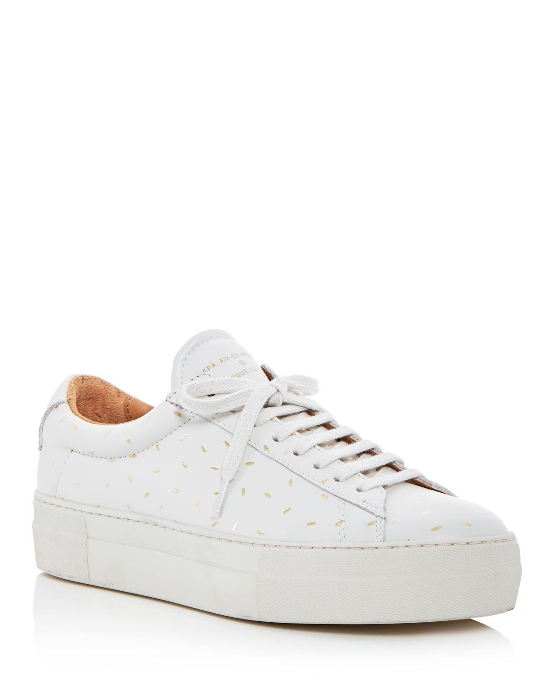 Zespà Women's Dessus Supakitch Leather Lace Up Platform Sneakers - 100% Exclusive