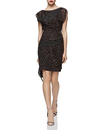 REISS - Lulan Burnout Dress