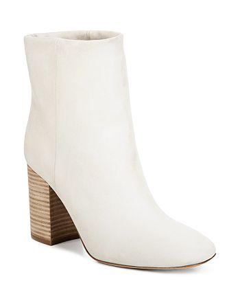 Vince - Women's Felton Leather Block Heel Booties
