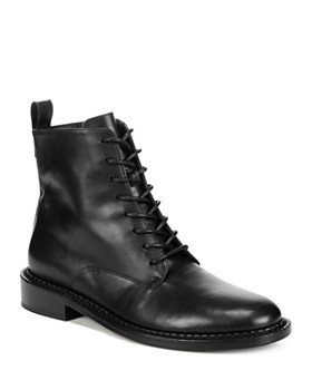 106d537eeb41 Vince - Women s Cabria Leather Lace Up Boots ...