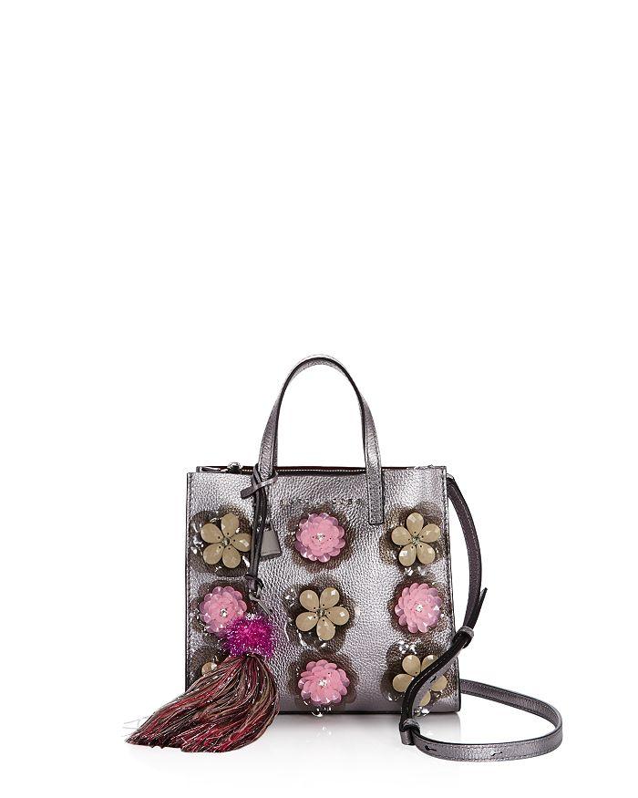 MARC JACOBS - Mini Grind Leather Handbag