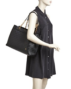 Tory Burch - Fleming Triple Compartment Leather Tote