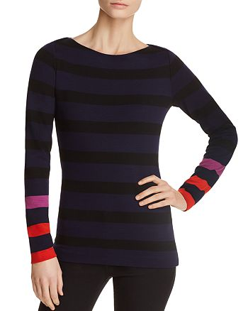 BOSS - Elive Striped Top