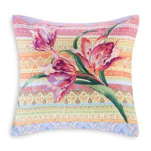 Echo Sofia Embroidered Decorative Pillow, 18 x 18
