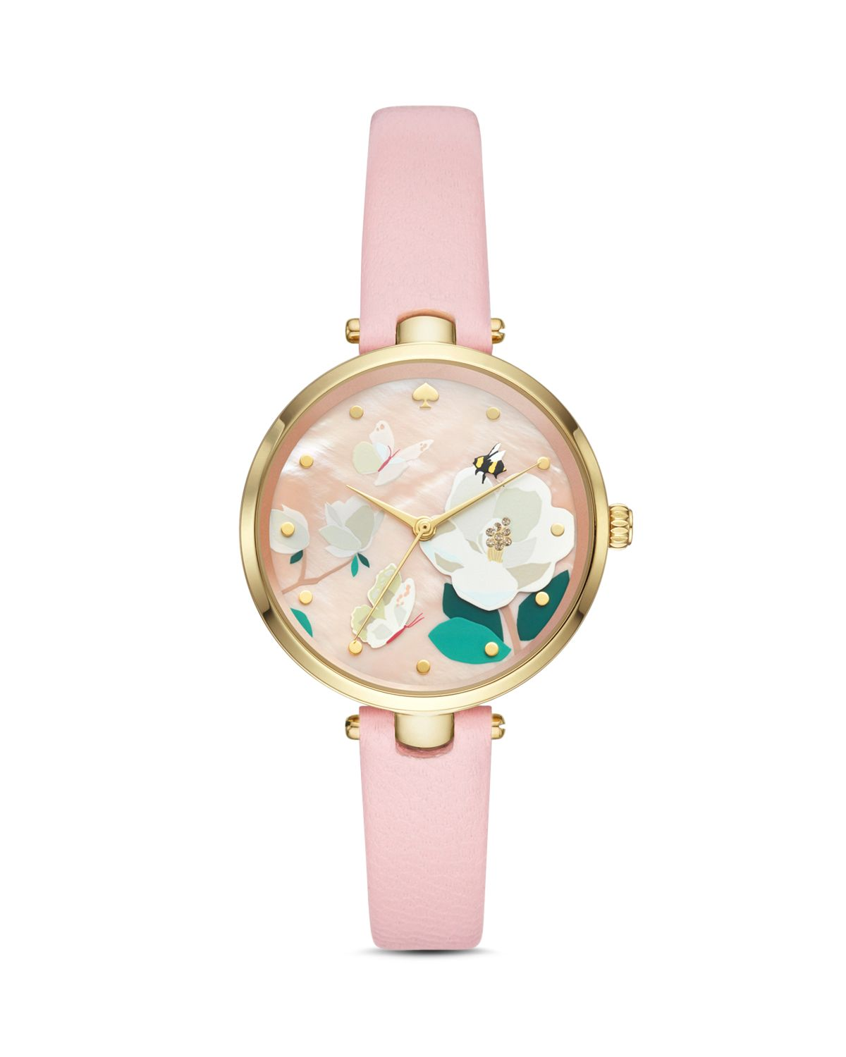Holland Bee, Butterfly & Floral Detail Watch, 34mm by Kate Spade New York