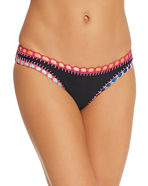 Platinum Crochet Trim Bikini Bottom - 100% Exclusive
