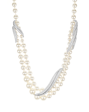 Nadri Willow Faux-Pearl Necklace, 17