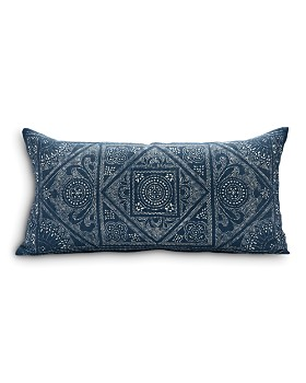 "Sugar Feather - Ramsey Dark Decorative Pillow, 30"" x 15"""