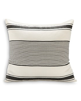 "Sugar Feather - Milo Stripe Decorative Pillow, 22"" x 22"""