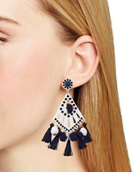 Rebecca Minkoff - Cha-Cha Tassel Drop Earrings