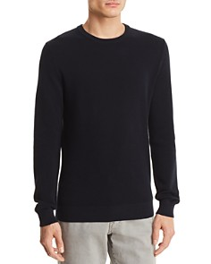 Theory Riland Piqué Breach Crewneck Sweater - Bloomingdale's_0