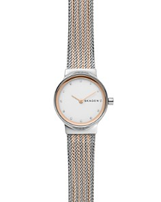 Skagen - Freja Rose Gold-Tone Detail Watch, 26mm