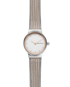 Skagen - Freja Rose Gold-Tone Detail Watch, 26mm