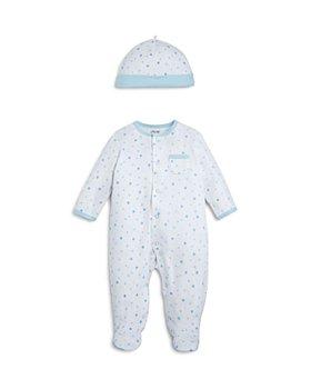 Little Me - Boys' Star-Print Footie & Cap Set, Baby - 100% Exclusive