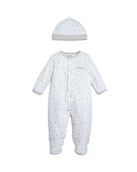 Little Me - Unisex Star-Print Footie & Cap Set, Baby - 100% Exclusive