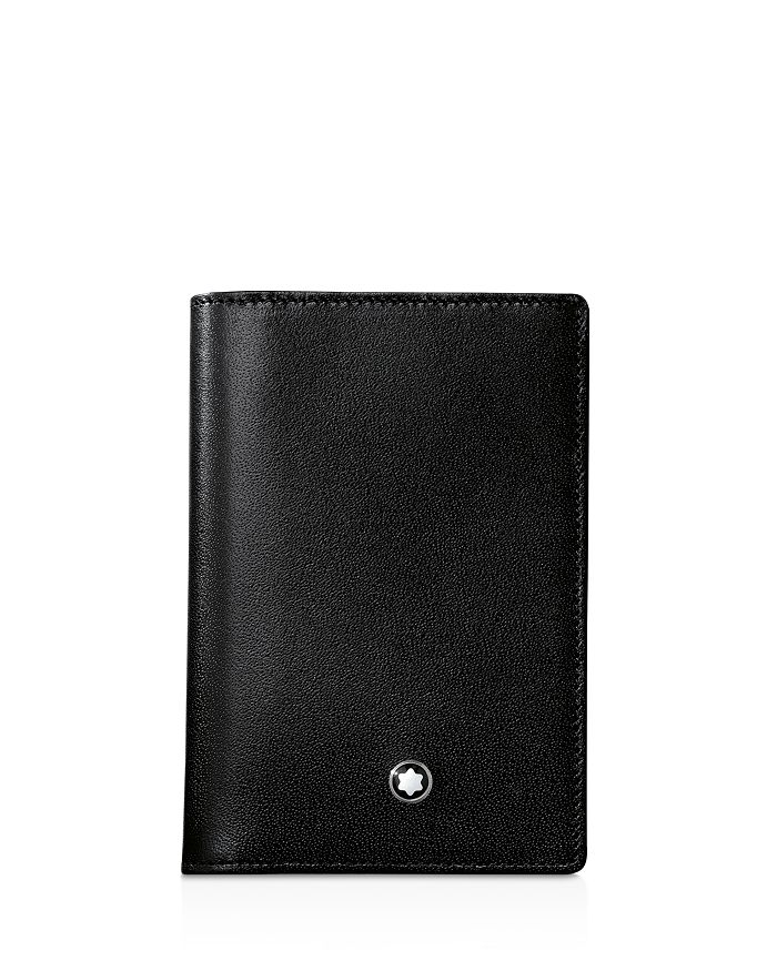 7d1335ac6bfd7f Montblanc - Meisterstück Leather Business Card Holder with Gusset