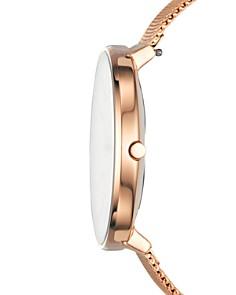 Skagen - Karolina Rose Gold-Tone Mesh Bracelet Watch, 38mm
