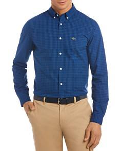 Lacoste Casual Long Sleeve Button-Down Shirt - Bloomingdale's_0
