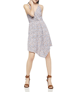 BCBGeneration Floral Print Asymmetric Dress