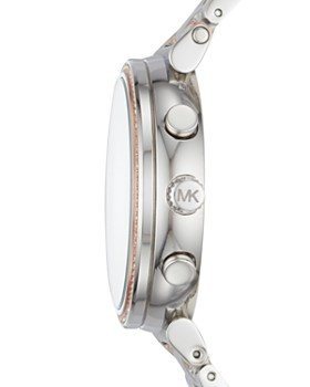 Michael Kors - Silver-Tone Sofie Chronograph, 39mm