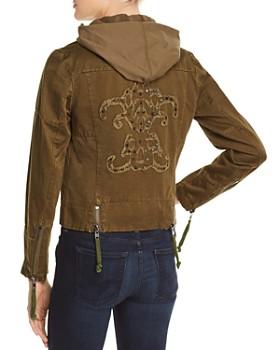 Doma - Appliquéd Army Jacket