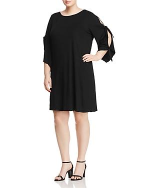 New Cupio Plus Tie-Sleeve Dress - 100% Exclusive, Black