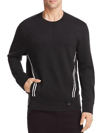 BLACKBARRETT by Neil Barrett - Double Stripe Crewneck Sweatshirt