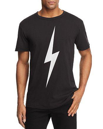 ebaf0b07 CHASER Lightning Bolt Crewneck Tee | Bloomingdale's