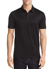 HUGO Dajm Linen Regular Fit Polo Shirt - Bloomingdale's_0