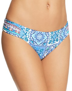 Nanette Lepore - Ensenada Tile Siren Bikini Bottom - 100% Exclusive
