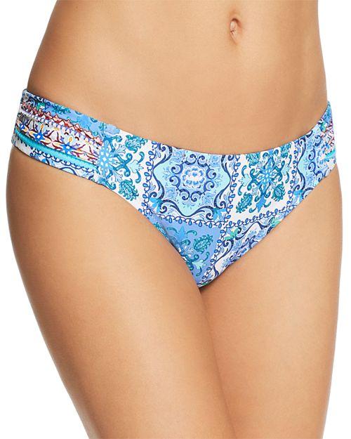 Nanette Lepore - Ensenada Tile Siren Bikini Bottom - 100% Exclusive