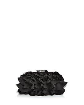 AQUA - Chiffon Ruffle Clutch - 100% Exclusive