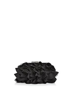 Aqua Chiffon Ruffle Clutch - 100% Exclusive