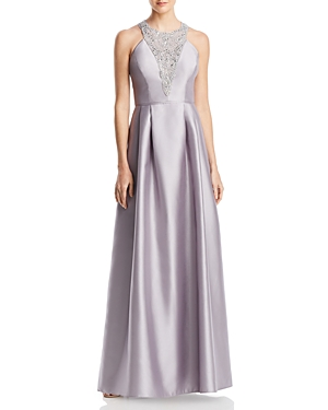 Adrianna Papell Embellished Ball Gown