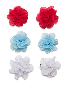 Capelli Girls' Floral Hair Clips, Set of 6 - Bloomingdale's_0