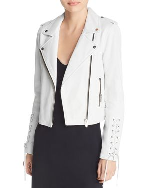 THE MIGHTY COMPANY FLORENCE THE BIKER CROP JACKET