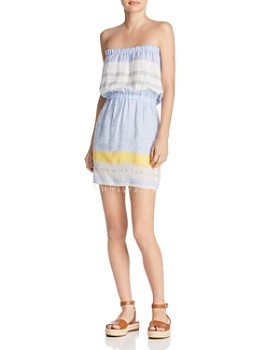 c05f9bfde63f Lemlem - Mimi Strapless Beach Dress ...
