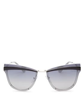 Prada - Women's Cat Eye Sunglasses, 65mm