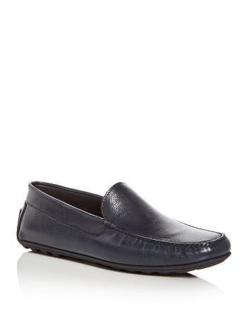 A.Testoni - Men's Leather Moc Toe Drivers
