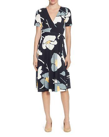 CATHERINE Catherine Malandrino - Taral Floral Wrap Dress