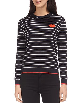 Whistles - Kiss Striped Sweater
