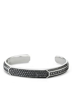 David Yurman - Pavé Heirloom Cuff Bracelet with Black Diamonds